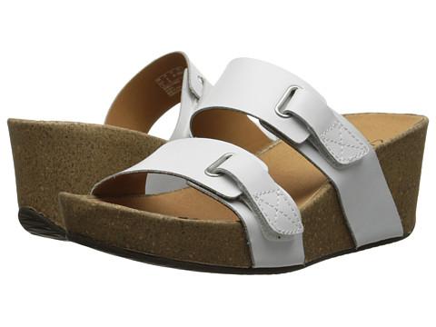 Clarks - Auriel Till (White) Women's Shoes