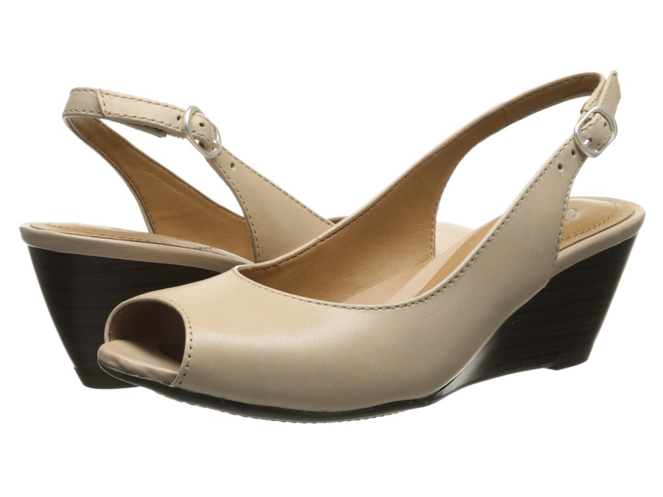 Clarks - Brielle April (Nude) Women's Shoes