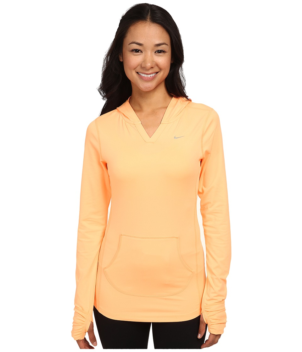 Nike - Element Hoodie (Sunset Glow/Sunset Glow/Reflective Silver) Women's Sweatshirt