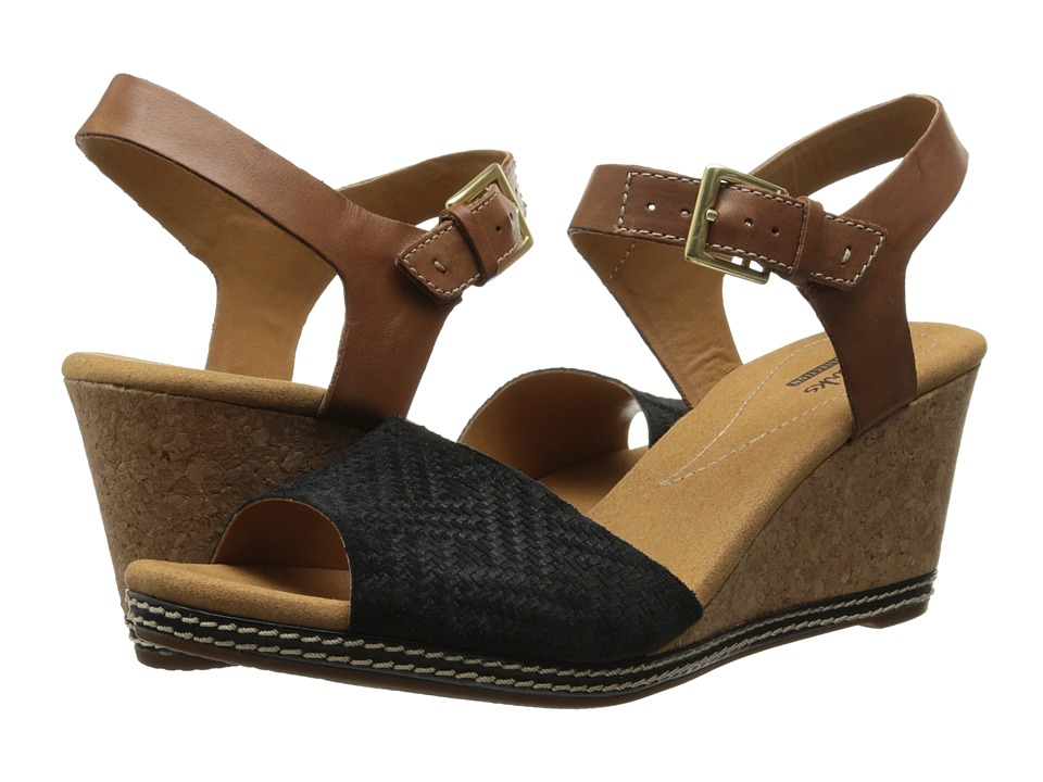 Clarks - Helio Jet (Black) Women's Shoes