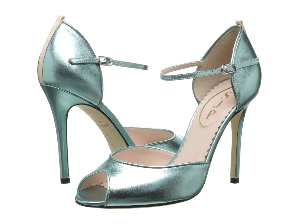 SJP by Sarah Jessica Parker - Ursula (Blue Metallic) Women's Shoes