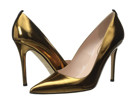 SJP by Sarah Jessica Parker - Fawn 100mm (Bronze Glass Specchio) Women's Shoes