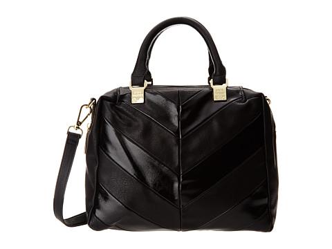 Steve Madden - Holmes Satchel (Black) Satchel Handbags