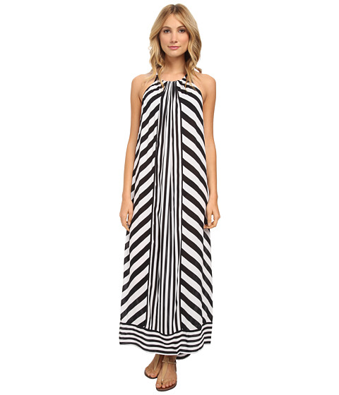 Seafolly - Supernova Maxi Dress Cover-Up (Black) Women