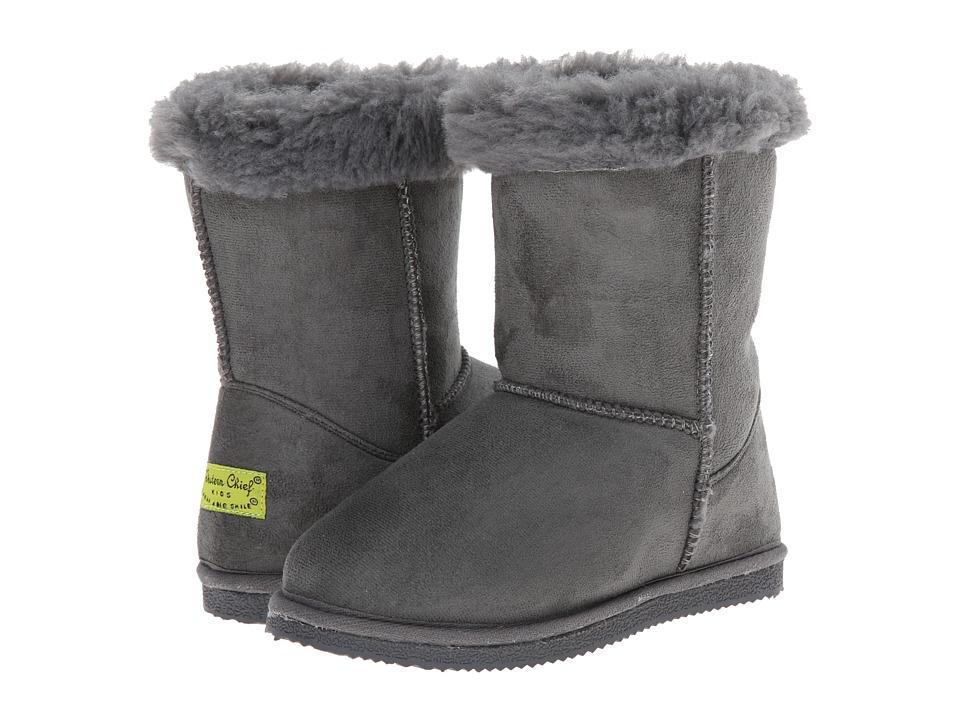 Western Chief Kids - Bootie (Little Kid/Big Kid) (Gray) Girls Shoes
