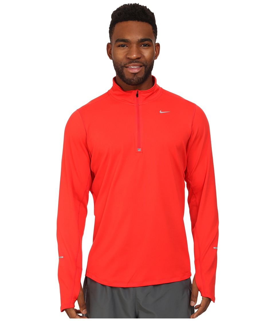 Nike - Element Half-Zip (Daring Red/Daring Red/Reflective Silver) Men's Long Sleeve Pullover