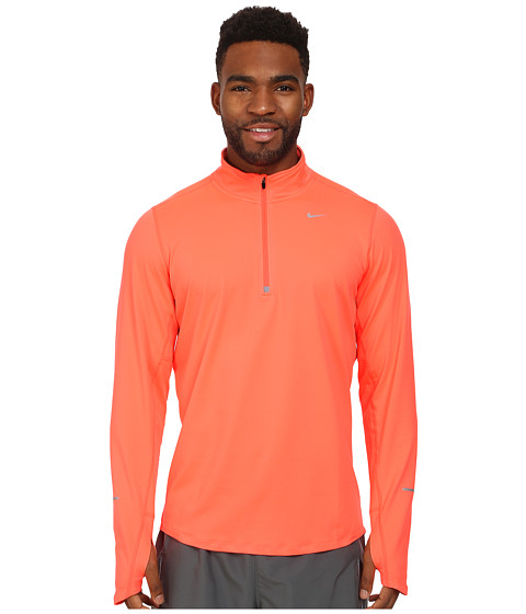 Nike - Element Half-Zip (Hot Lava/Hot Lava/Hot Lava/Reflective Silver) Men