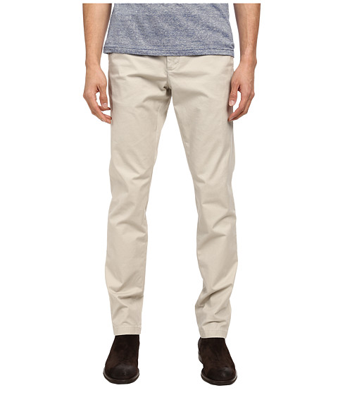 Michael Kors - Slim Cotton Stretch Chino (Stone) Men's Casual Pants