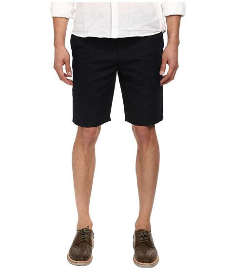 Michael Kors - Tailored Cotton Linen Short (Midnight) Men
