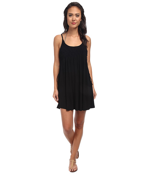 Seafolly - Chedi Club Dress Cover-Up (Black) Women
