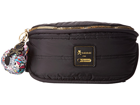 LeSportsac - Gemma Belt Bag (Tokidoki Black Quilted) Bags