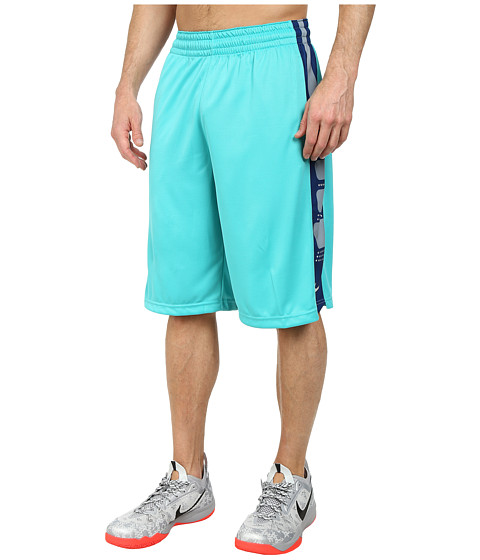Nike - Elite Stripe Short (Light Retro/White/Whitesr) Men's Shorts