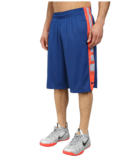 Nike - Elite Stripe Short (Gym Blue/Gym Blue/Gym Blue) Men