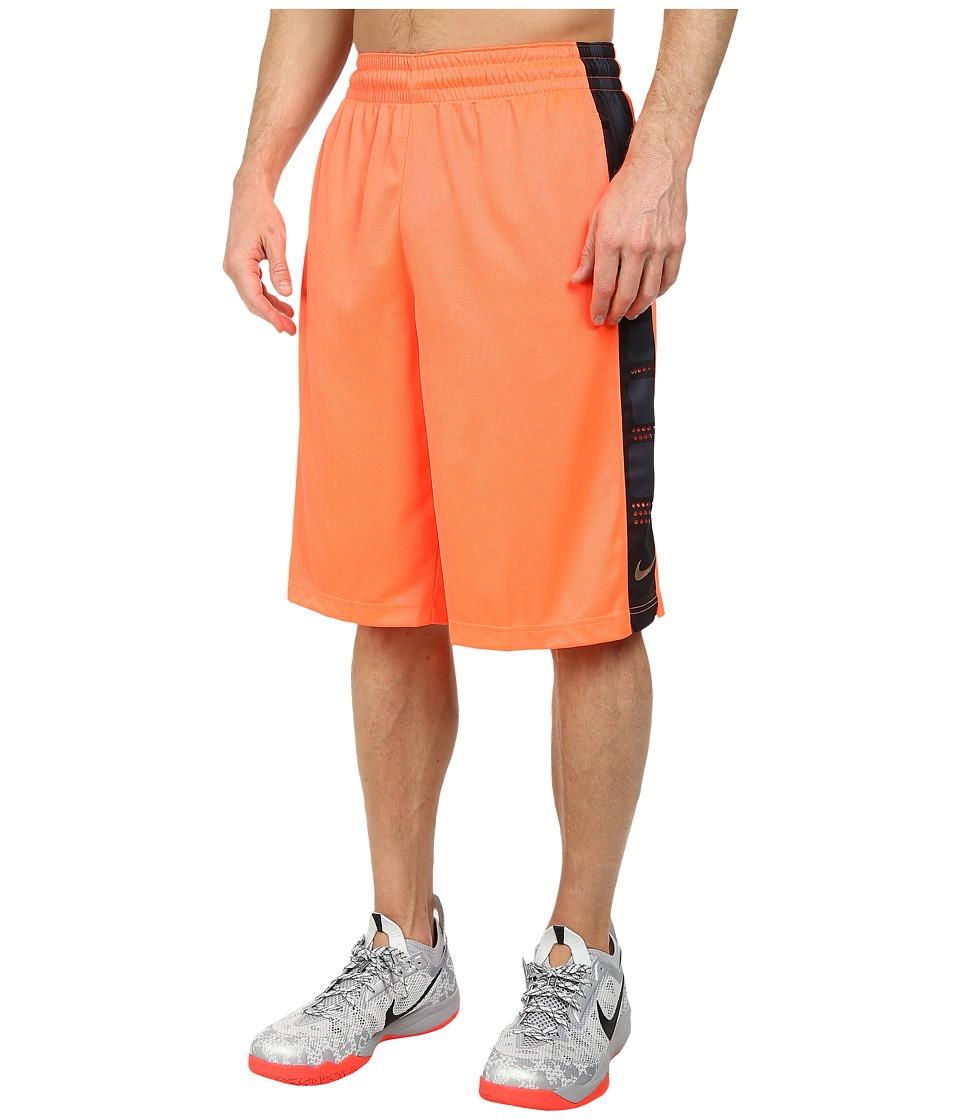 Nike - Elite Stripe Short (Hot Lava/Hot Lava/Mtlc Red Bronze) Men