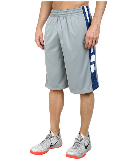 Nike - Elite Stripe Short (Dove Grey/Dove Grey/Dove Grey) Men