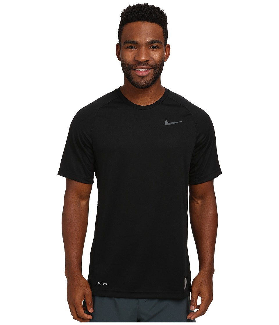 Nike - Elite Shooter (Black/Black/Anthracite/Anthracite) Men's T Shirt
