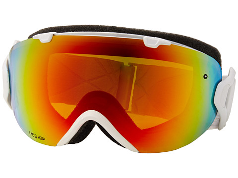 Smith Optics - IO (Black Sabotage Frame/Blackout/Red Sensor Lens) Snow Goggles