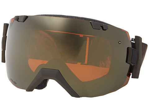 Smith Optics - IO (Black Frame/Red Sol-X/Blue Sensor Lens) Snow Goggles