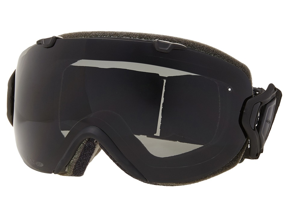 Smith Optics - IO (Blue Burnout Frame/Green Sol-X/Red Sensor Lens) Snow Goggles