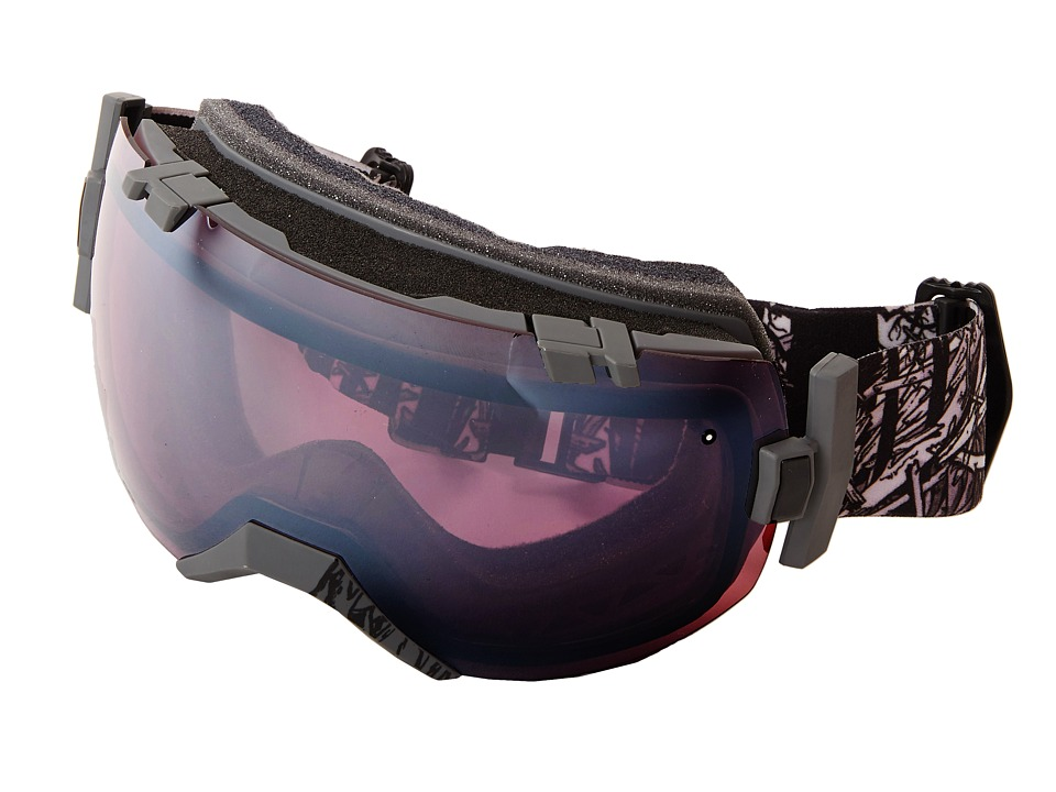 Smith Optics - IO (Black Frame/Ignitor/Red Sensor Lens) Snow Goggles