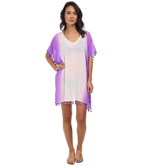Seafolly - Splendour Kaftan Cover-Up (African Violet) Women