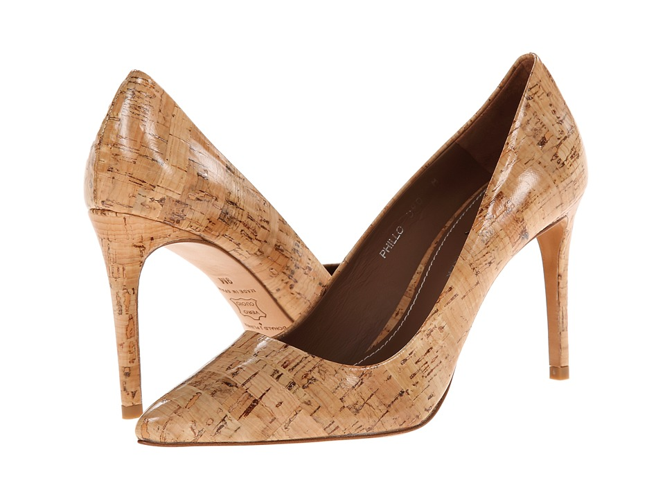 Donald J Pliner Phillo (Natural Patent Cork) High Heels