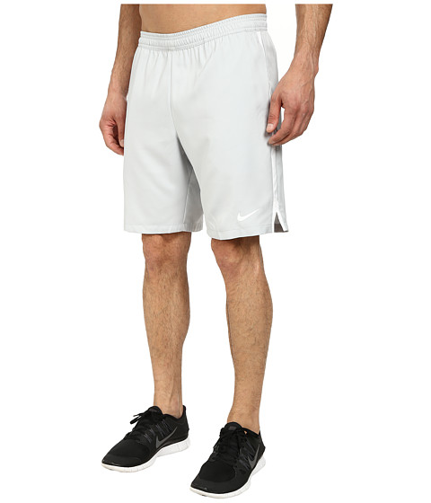 Nike - Court 9 Short (Grey Mist/White/White) Men