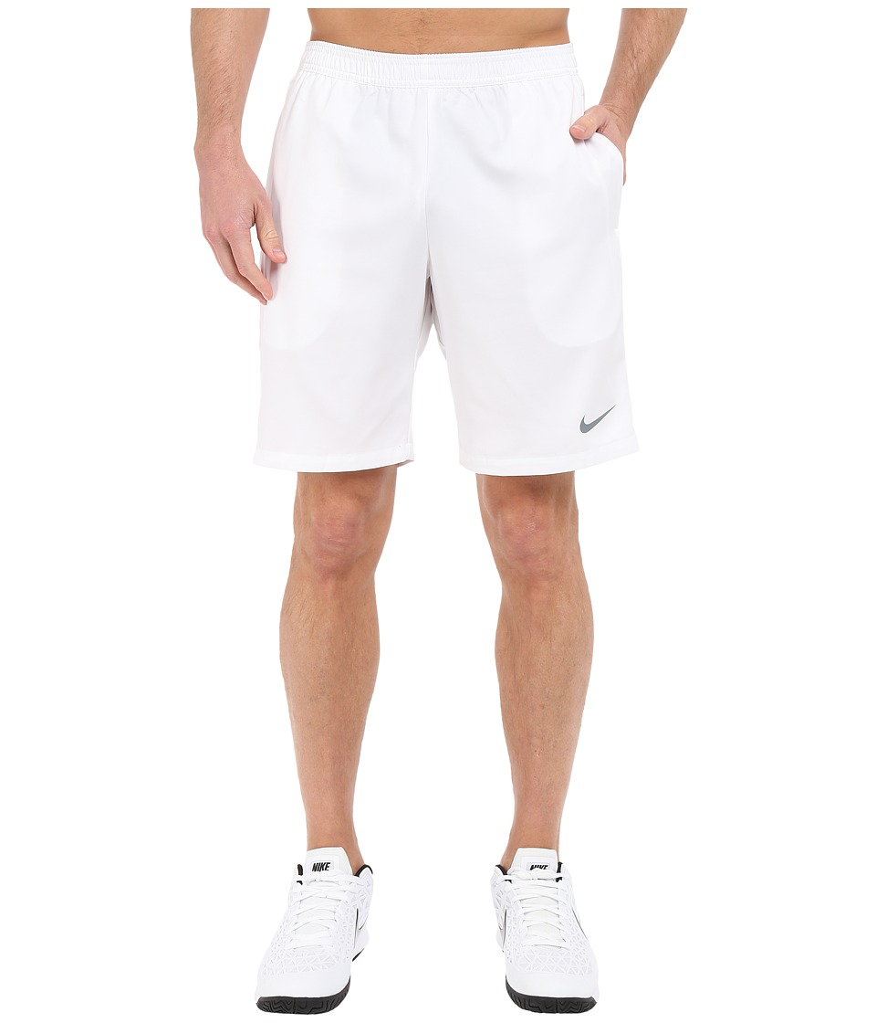 Nike - Court 9 Short (White/Cool Grey) Men's Shorts