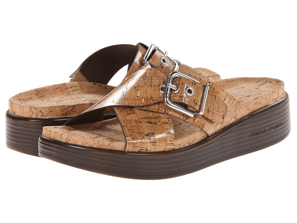 Donald J Pliner - Farro (Natural Patent Cork) Women's Sandals