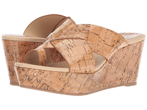 Donald J Pliner - Fuji2 (Natural Patent Cork) Women's Wedge Shoes