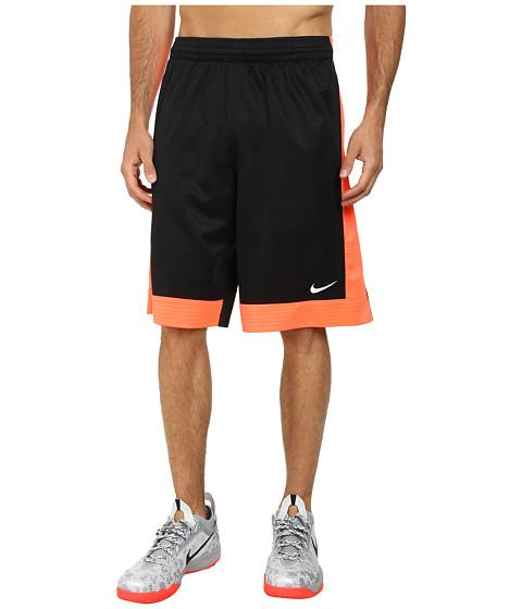 Nike - Fastbreak Short (Black/Hot Lava/Hot Lava/White) Men