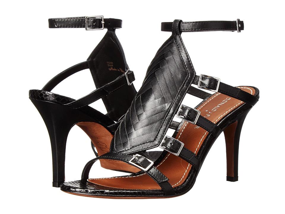 Donald J Pliner - Tena (Black Calf) Women's Sandals