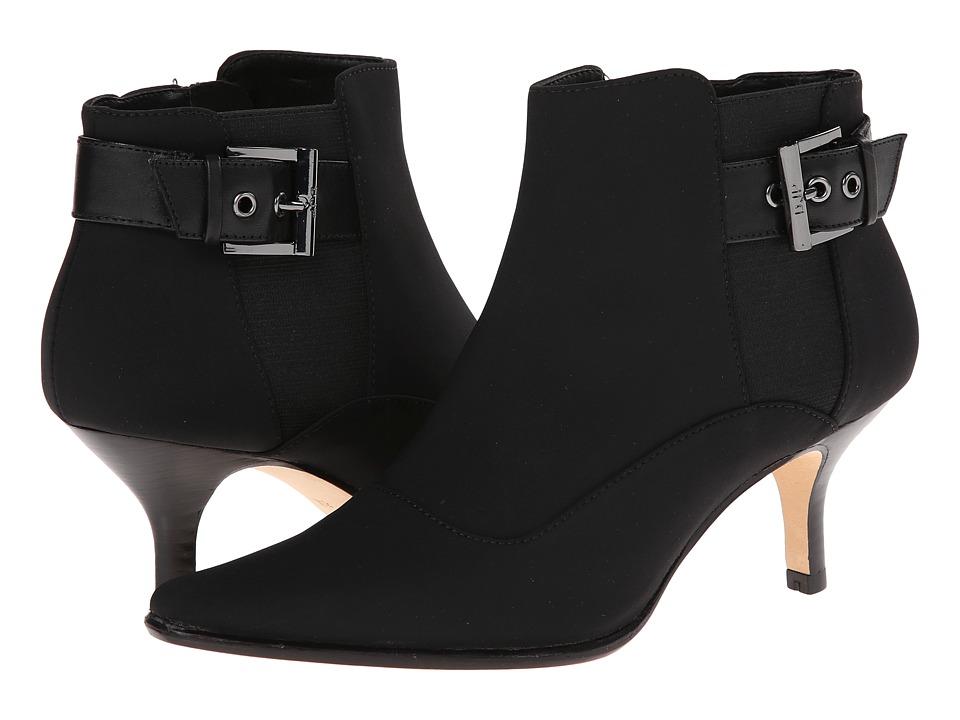 Donald J Pliner - Longa-D (Black Crepe Elastic) Women's Zip Boots