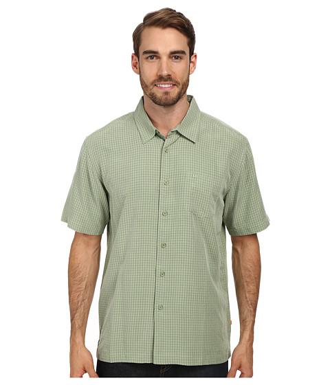 Quiksilver Waterman - Lyall Bay Woven Top (Fiji Green) Men