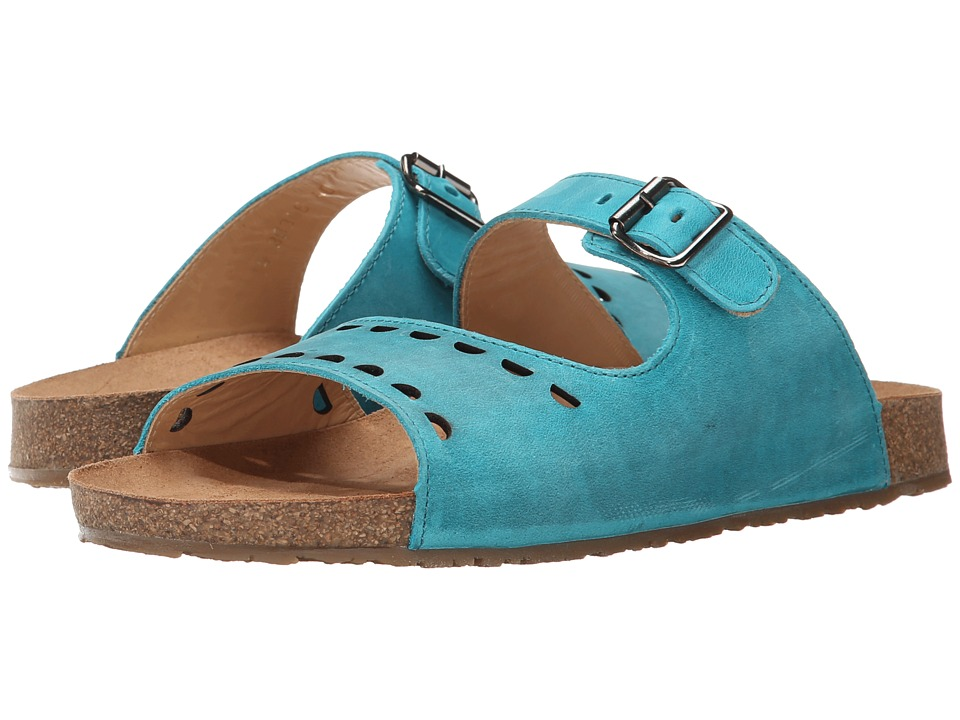 Haflinger - Anna (Sky Blue) Women's Sandals