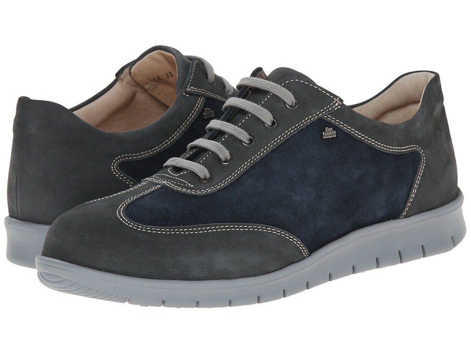 Finn Comfort - Kiruna (Asphalt/Atlantic) Men's Lace up casual Shoes