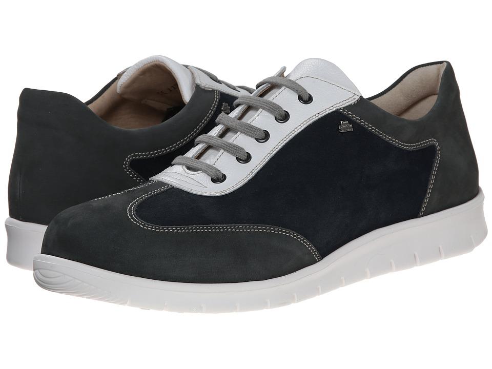 Finn Comfort - Kiruna (Asphalt/Atlantic/Bianco) Men's Lace up casual Shoes