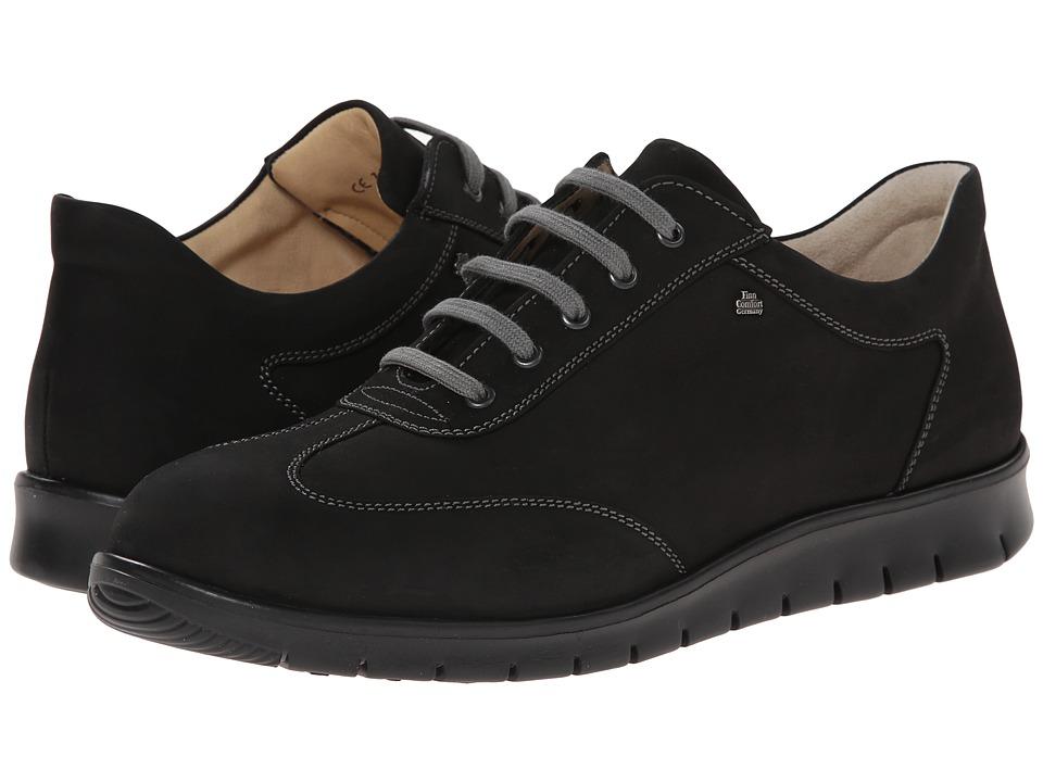 Finn Comfort - Kiruna (Black) Men's Lace up casual Shoes