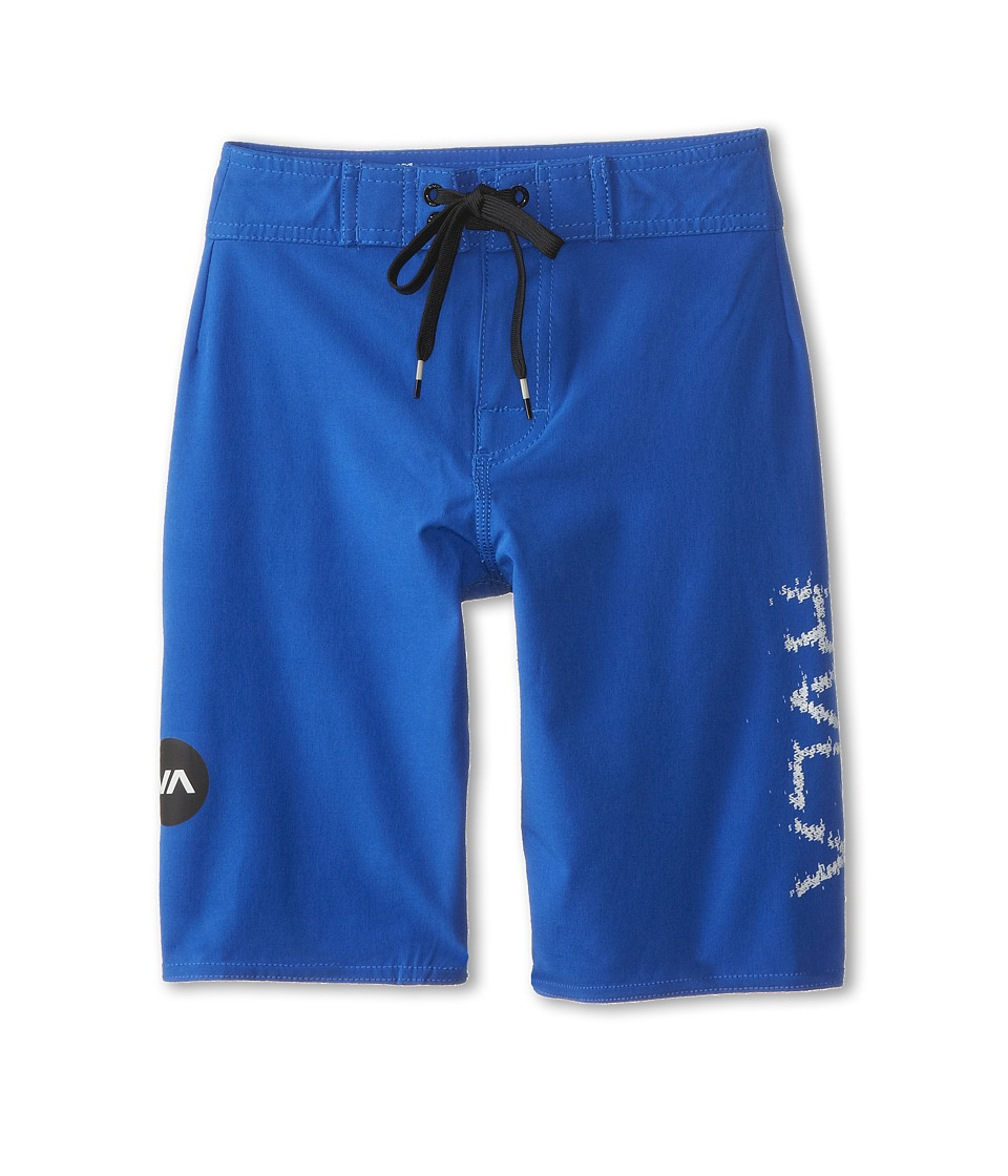 RVCA Kids - Register Trunk (Big Kids) (Ultra Blue) Boy's Swimwear