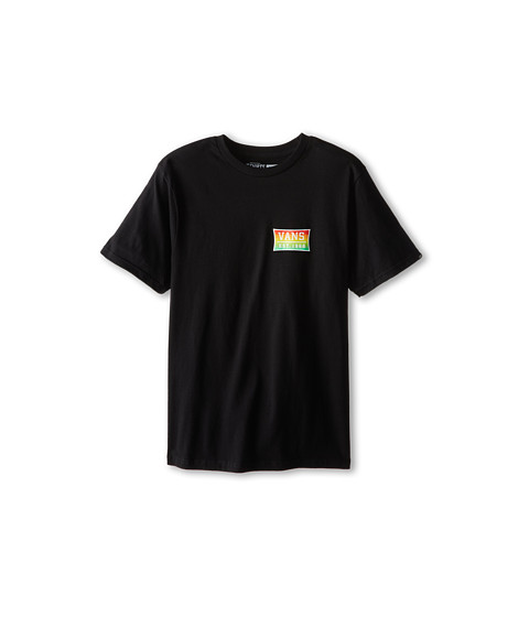 Vans Kids - Est. 66 Tee (Big Kids) (Black) Boy's T Shirt