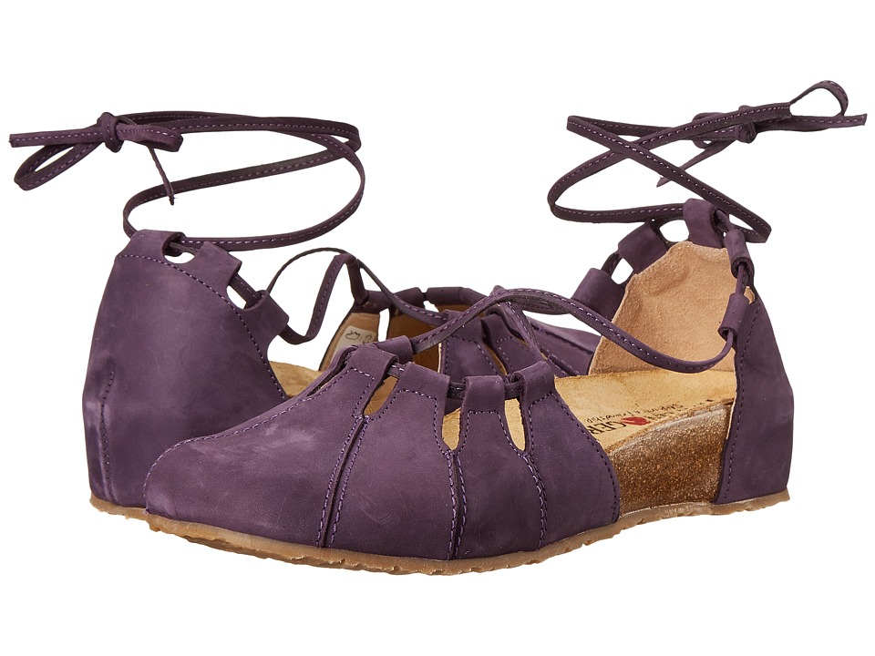 Haflinger - Eva (Eggplant) Women's Flat Shoes