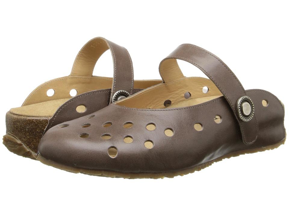 Haflinger - Crystal (Cafe) Women's Slip on Shoes