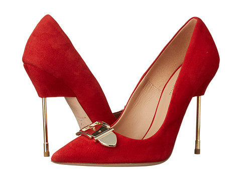 Kurt Geiger - Britton2 (Red Suede) High Heels