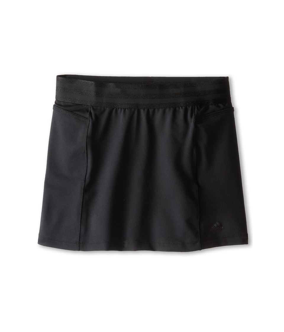 adidas Golf Kids - CLIMALITE Essentials Rangewear Skort (Big Kids) (Black) Girl's Skort