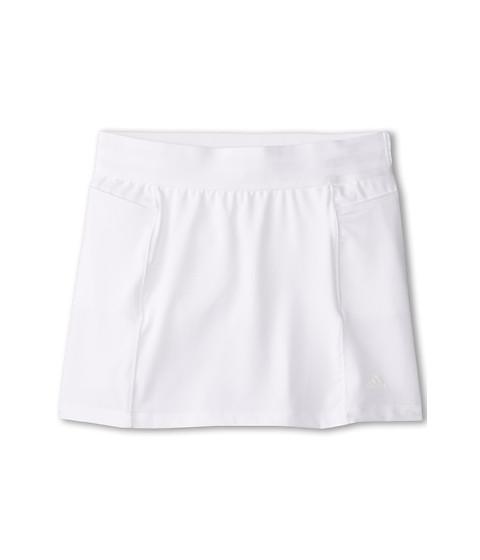 adidas Golf Kids - CLIMALITE Essentials Rangewear Skort (Big Kids) (White) Girl