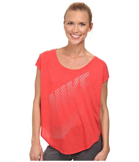 Nike - Nike Tee TP (Daring Red/White) Women's Sleeveless