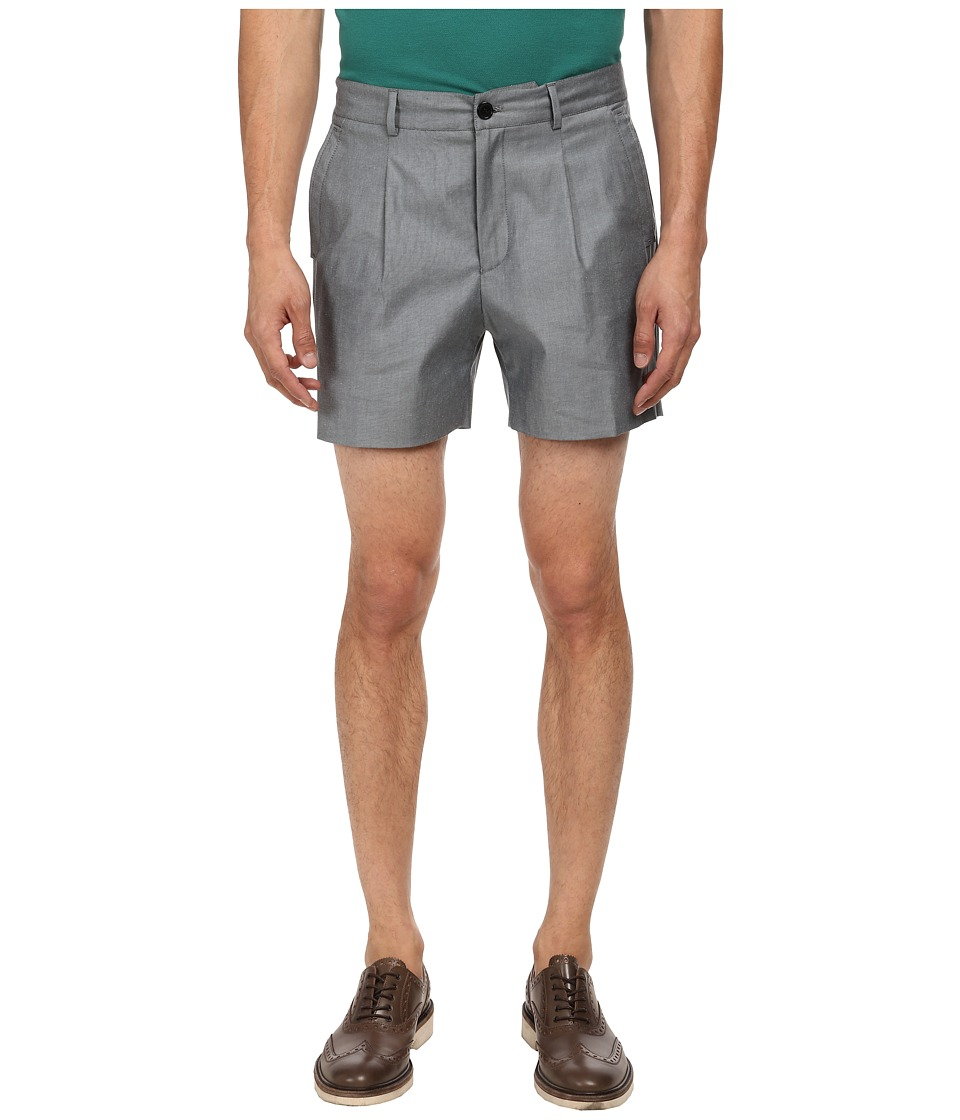 Versace Collection - Pleated Short (Black) Men's Shorts
