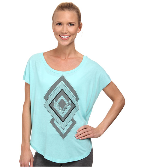 Nike - Signal Diamonds Tee (Light Aqua/Black) Women