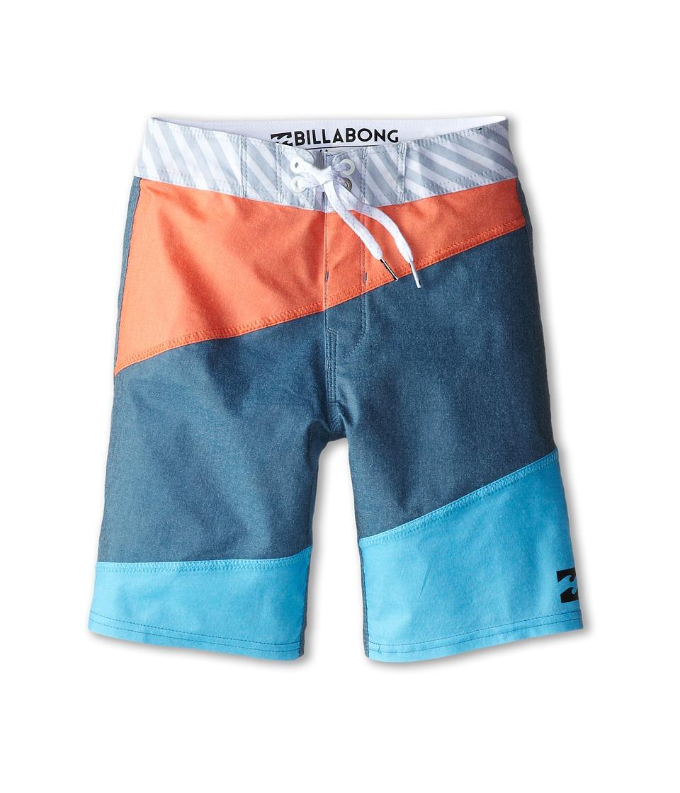 Billabong Kids - Menace X Boardshorts (Big Kids) (Aqua) Boy's Swimwear