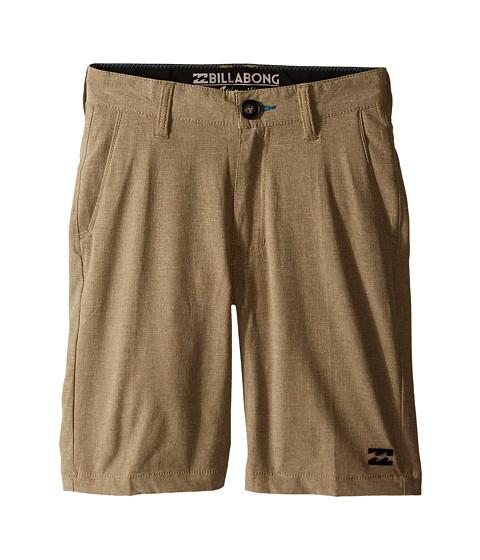Billabong Kids - Crossfire X Walkshorts (Big Kids) (Gravel) Boy's Shorts